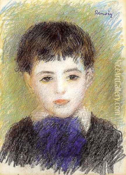 Portrait Of Pierre Oil Painting - Pierre Auguste Renoir