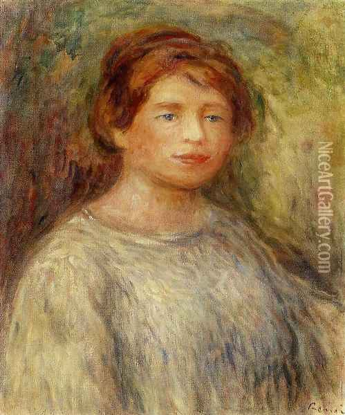 Portrait Of A Woman4 Oil Painting - Pierre Auguste Renoir