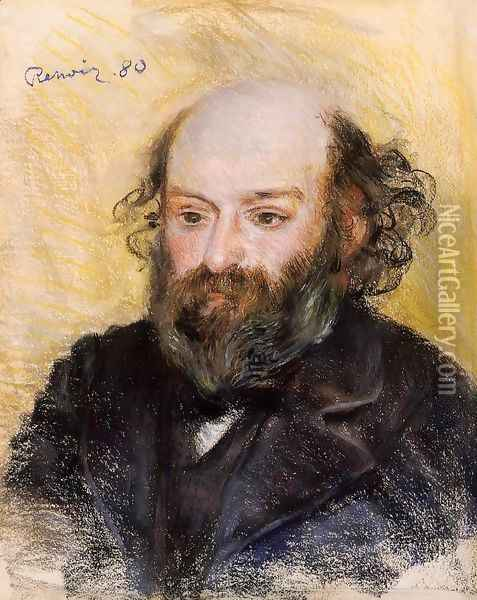 Paul Cezanne Oil Painting - Pierre Auguste Renoir