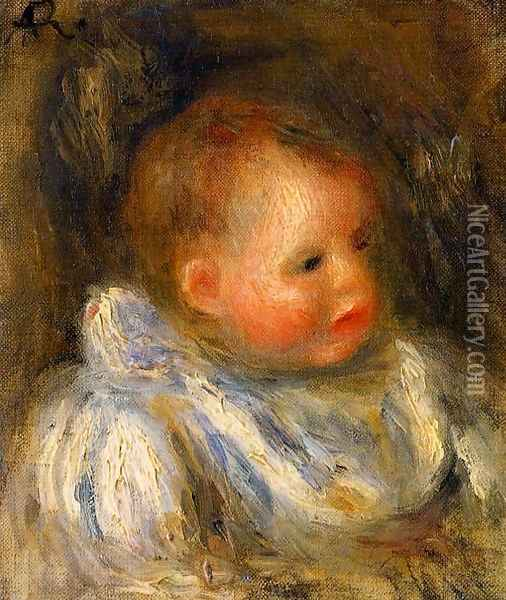 Portrait Of Coco Oil Painting - Pierre Auguste Renoir