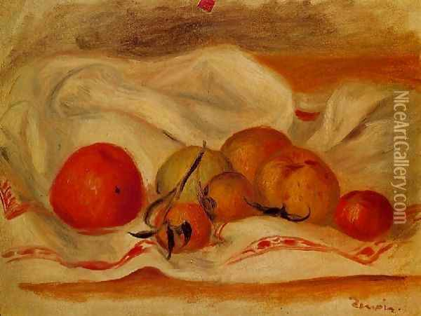 Still Life4 Oil Painting - Pierre Auguste Renoir