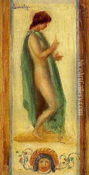 Study Of A Woman For Oedipus Oil Painting - Pierre Auguste Renoir