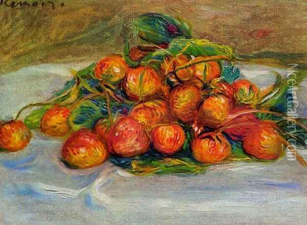 Strawberries2 Oil Painting - Pierre Auguste Renoir