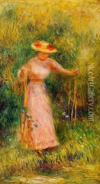 The Swing Oil Painting - Pierre Auguste Renoir