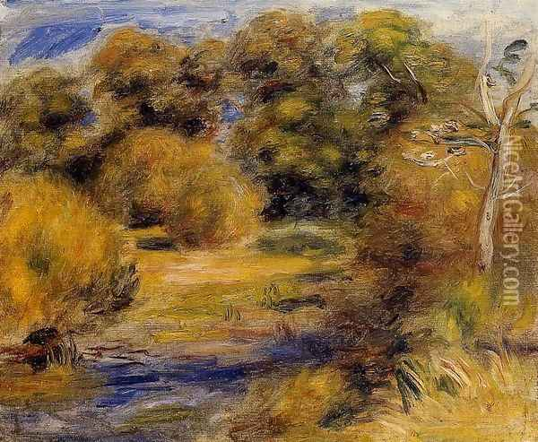 The Clearing Oil Painting - Pierre Auguste Renoir