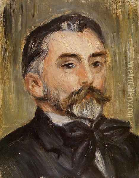 Stephane Mallarme 1 Oil Painting - Pierre Auguste Renoir
