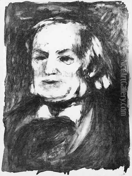 Richard Wagner 2 Oil Painting - Pierre Auguste Renoir