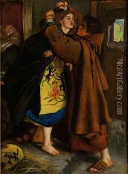 Escape Of The Heretic Oil Painting - Sir John Everett Millais