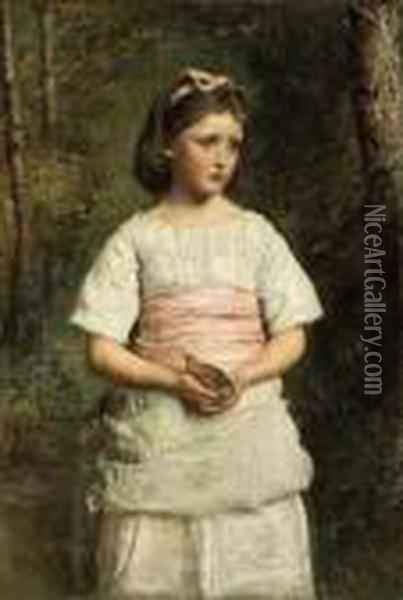 Dropped From The Nest Oil Painting - Sir John Everett Millais
