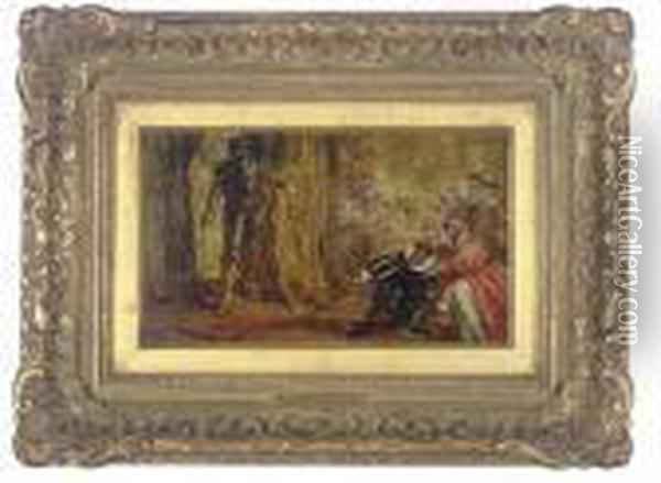 Imminent Danger; And Under The Cover Of Darkness Oil Painting - Sir John Everett Millais