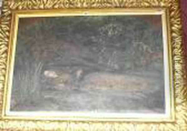 Ophelia Oil Painting - Sir John Everett Millais