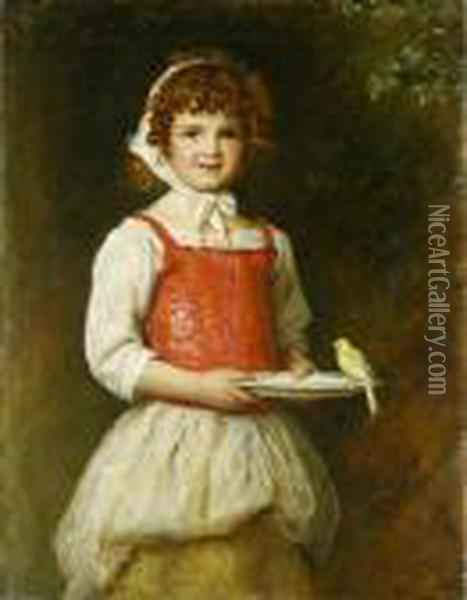 Merry Oil Painting - Sir John Everett Millais