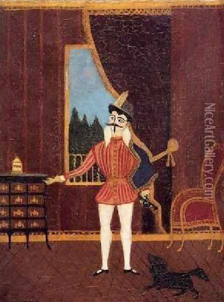 The Little Cavalier Don Juan Oil Painting - Henri Julien Rousseau