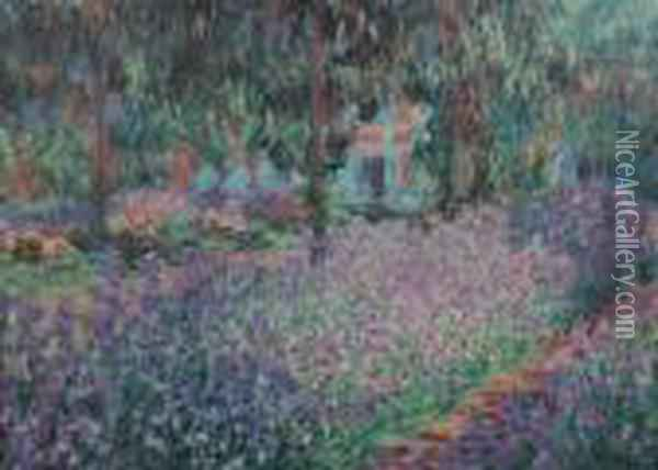 Garden Oil Painting - Claude Oscar Monet