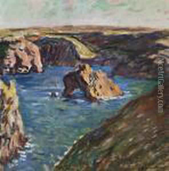 Belle-ile Oil Painting - Claude Oscar Monet