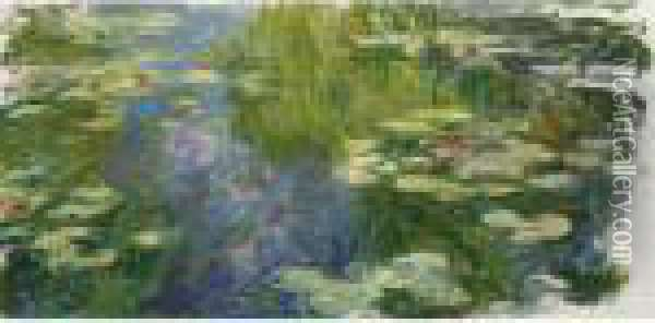 Le Bassin Aux Nympheas Oil Painting - Claude Oscar Monet