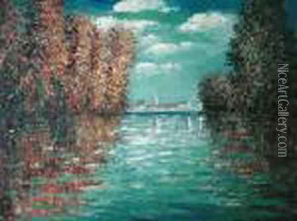 Autumn At Argenteuil Oil Painting - Claude Oscar Monet