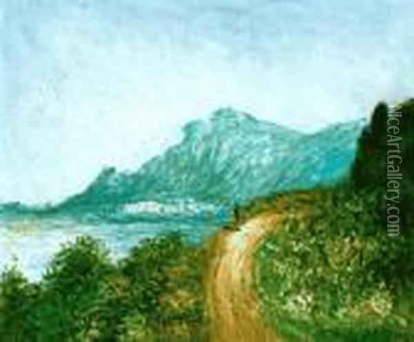 Cap Martin Near Menton Oil Painting - Claude Oscar Monet