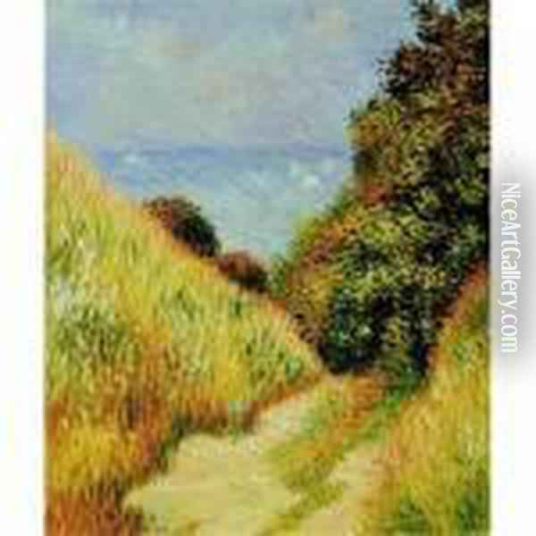 Bordighera Oil Painting - Claude Oscar Monet