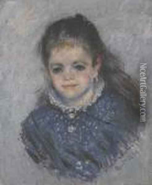 Portrait De Jeanne Serveau Oil Painting - Claude Oscar Monet