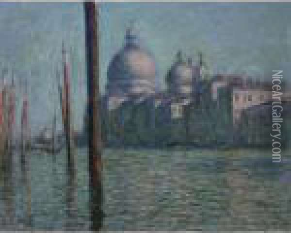 Le Grand Canal Oil Painting - Claude Oscar Monet