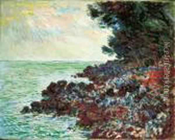Cap Martin Oil Painting - Claude Oscar Monet