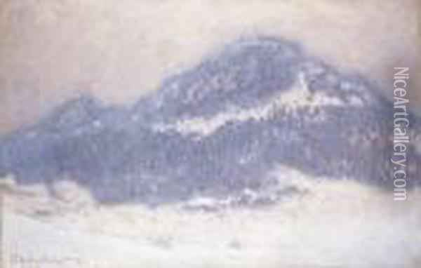 Mont Kolsaas, Temps Brumeux Oil Painting - Claude Oscar Monet