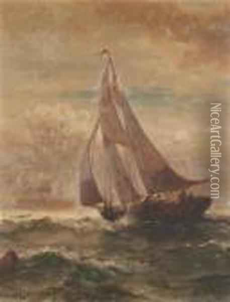Winds Of Change Oil Painting - Edward Moran