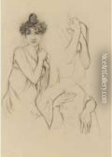 Study Of A Young Woman; Separate