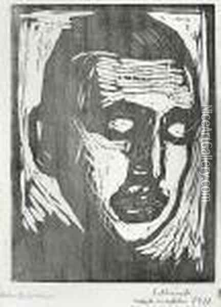 Jappe Nilssen Oil Painting - Edvard Munch