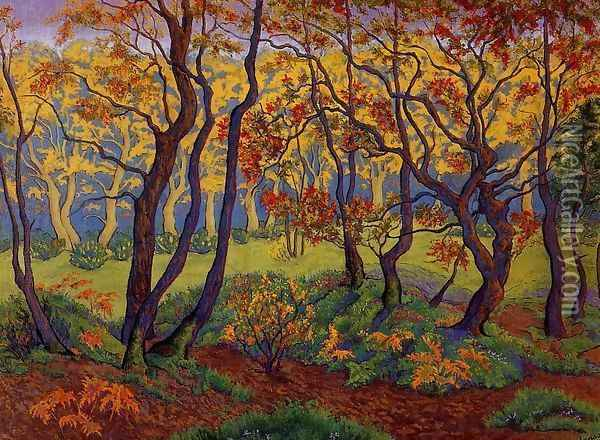 The Clearing Oil Painting - Paul-Elie Ranson