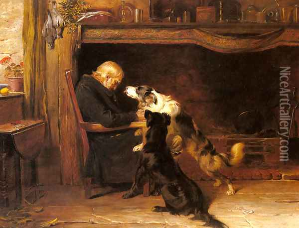 The Long Sleep Oil Painting - Briton Riviere