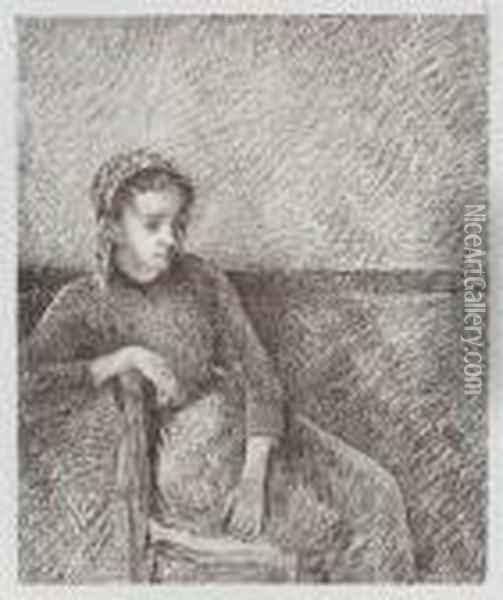 George W. Thornley Oil Painting - Camille Pissarro