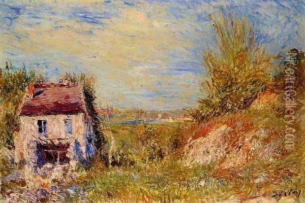 Abandoned House Oil Painting - Alfred Sisley