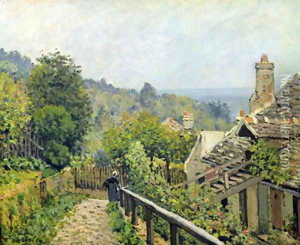 Louveciennes or, The Heights at Marly, 1873 Oil Painting - Alfred Sisley