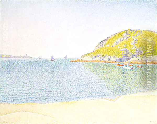 Port of Saint-Cast Oil Painting - Paul Signac