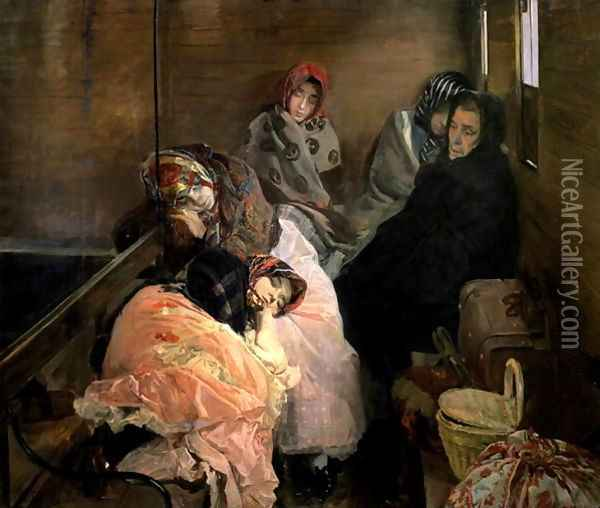 The White Slave Trade 1895 Oil Painting - Joaquin Sorolla Y Bastida