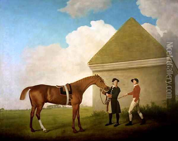 Eclipse, 1770 Oil Painting - George Stubbs