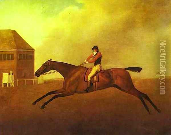 Baronet with Samuel Chifney Oil Painting - George Stubbs