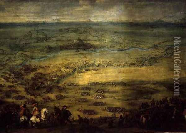 The Relief of the Fortress of Lerida Oil Painting - Pieter Snayers