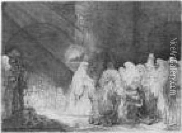 The Presentation In The Temple: 