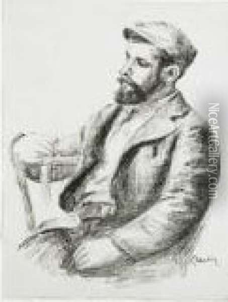 Louis Valtat From Douze Oil Painting - Pierre Auguste Renoir
