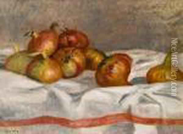 Nature Morte Oil Painting - Pierre Auguste Renoir
