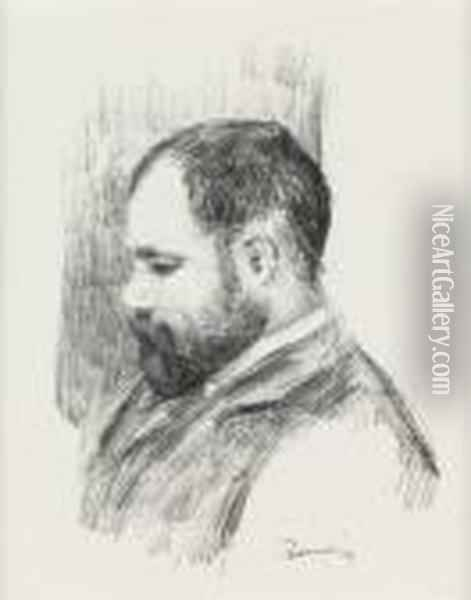 Ambroise Vollard Oil Painting - Pierre Auguste Renoir
