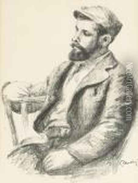 Louis Valtat, From Douze Lithographies Originales Oil Painting - Pierre Auguste Renoir