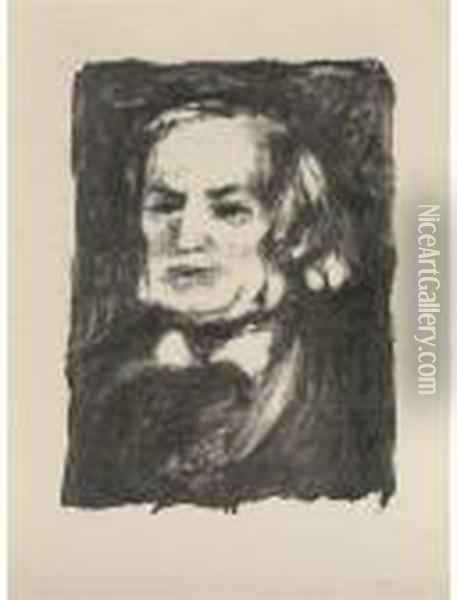 Richard Wagner Oil Painting - Pierre Auguste Renoir