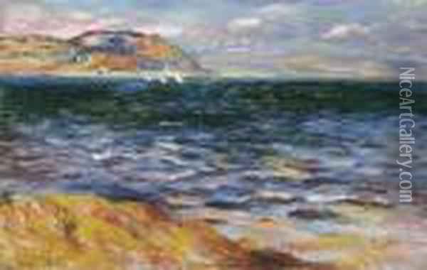 Bordighera Oil Painting - Pierre Auguste Renoir