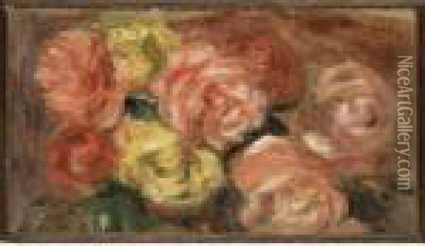 Nature Morte Aux Roses Oil Painting - Pierre Auguste Renoir