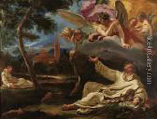 Property Of A Prominent St. Louis Family Oil Painting - Sebastiano Ricci
