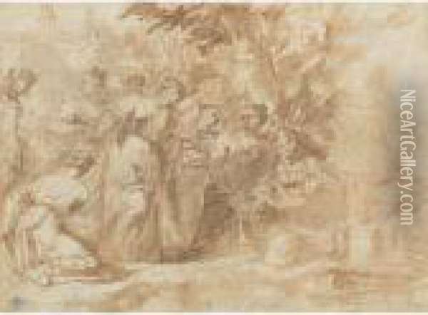 The Finding Of Moses Oil Painting - Sebastiano Ricci